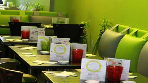 Vue de la salle - Sushi Bâ Lafayette, Paris