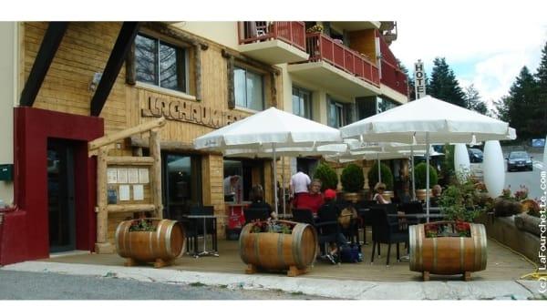 Terrasse - La Chaumière, Font-Romeu-Odeillo-Via