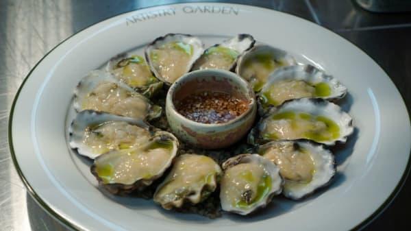 Oysters - Artistry.Garden, Sydney (NSW)