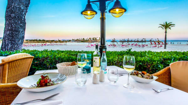 Terraza - Mirablau Beach Bar & Restaurant, Puerto de Alcudia
