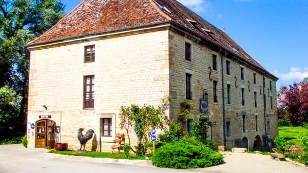 Façade - Le Moulin de Bourgchâteau, Louhans
