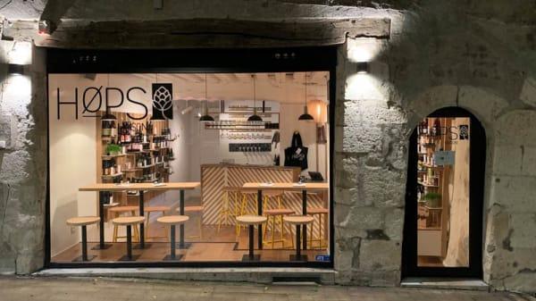 Façade - Maison Hops, Orléans