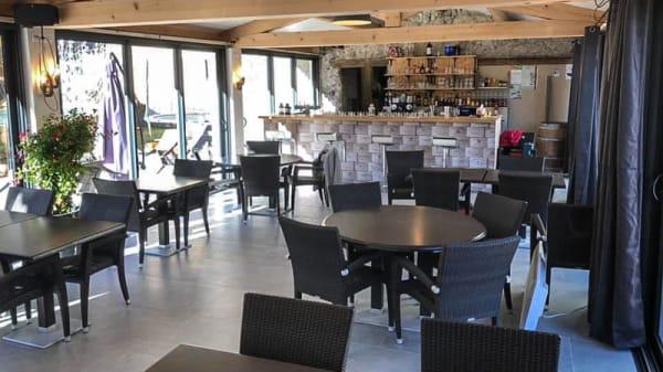 Salle du restaurant - Les Terrasses de la Salaou, Castellane
