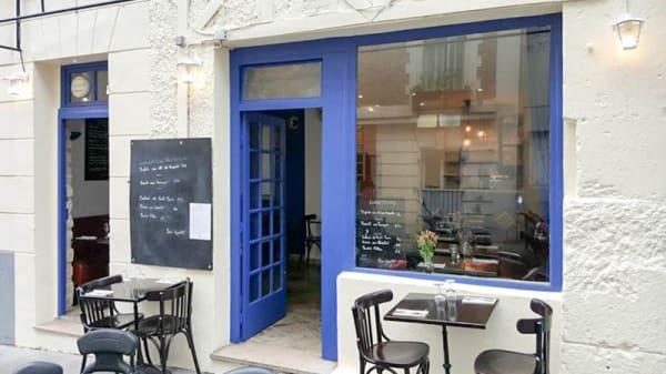 Devanture - Mezza Luna - Pizzeria Artisanale, Paris