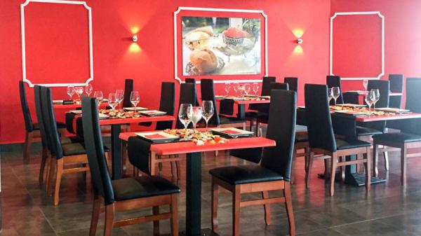 Vista de la sala - Caviar Rojo, Murcia