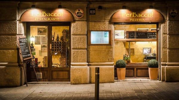Vista entrada - PerBacco!, Barcelona