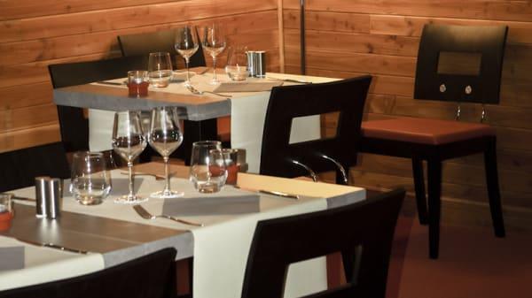 Vue tables - O Comptoirs des Saisons, Chevannes