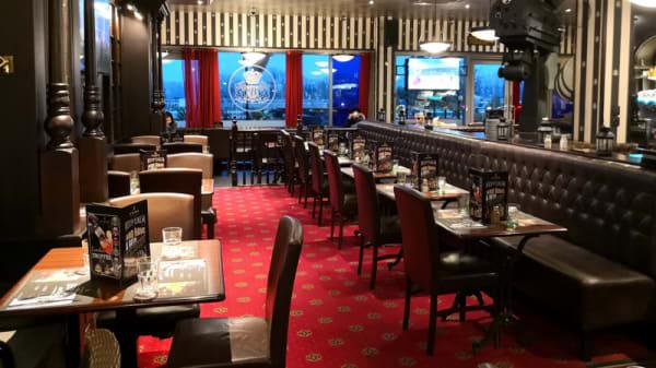 Salle du restaurant - Au Bureau Vaulx-en-Velin, Vaulx-en-Velin