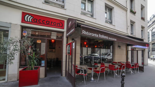 Bienvenue chez Maccaroni e ristorante, Paris 1er - Maccaroni Ristorante Italiano, Paris
