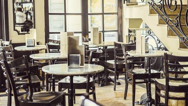 Vista sala - Café del Príncipe, Madrid