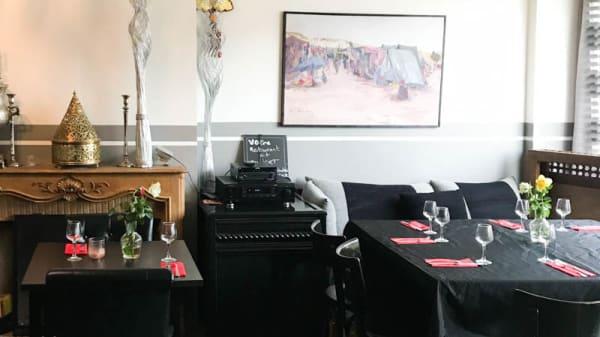 Salon du restaurant - Chamss, Villeneuve-d'Ascq