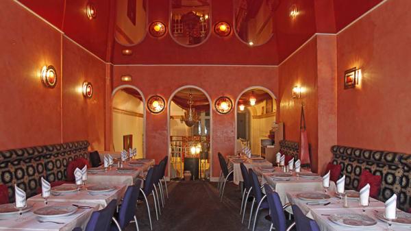 Salon du restaurant - Le Maroc, Lille