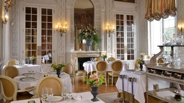 salle de restaurant - Le Stofflet - Château Colbert, Maulévrier