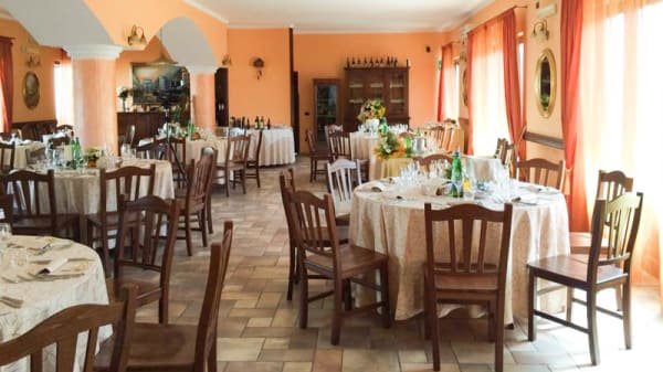 Vista della sala - Villa Pegaso