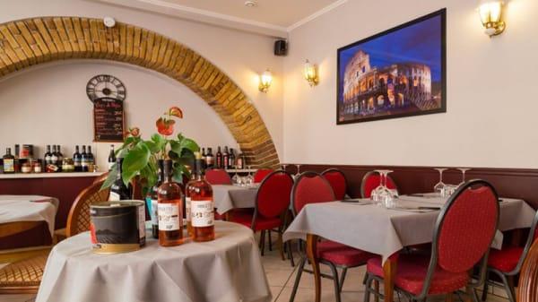 La salle principale - Morello Pizza, Paris