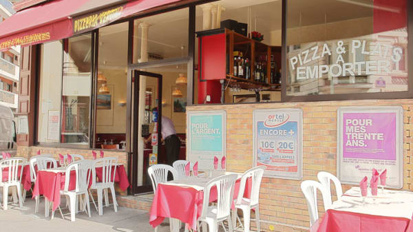 Vue de l'extérieur - Pizza Verona, Paris