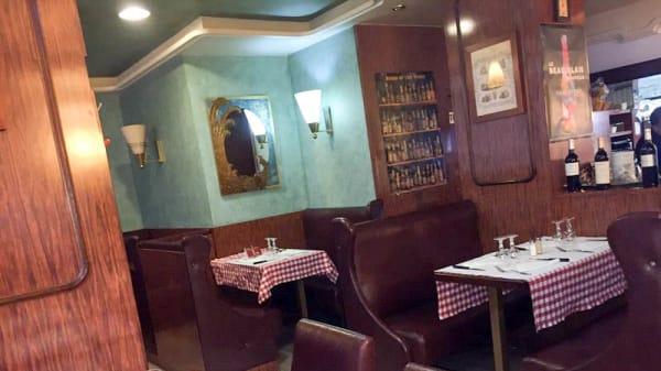 Vue de la salle - Café d'Orsel, Paris