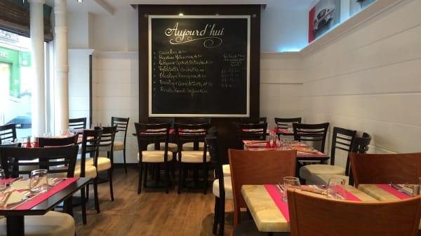 Salle du restaurant - La Matta Gelateria, Paris