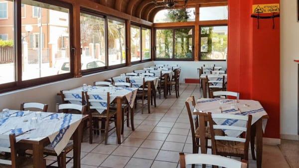 Vista sala - L'Angolo della Pizza, Marotta