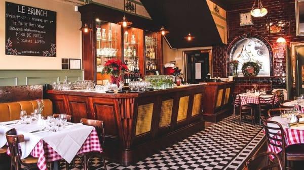 Restaurant - Le Petit Citron, London