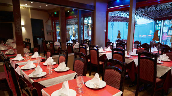 Aperçu de l'intérieur - Restaurant New Dehli, Paris