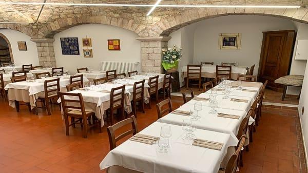 Vista sala - Ristorante Pizzeria Il Bargello, Gubbio