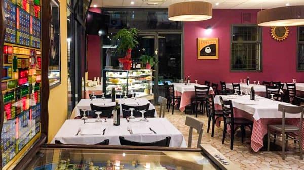 Vista sala - Due Madonne Pizzeria Trattoria, Bologna