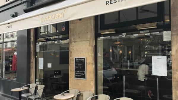 garcon restaurant rue du cherche midi