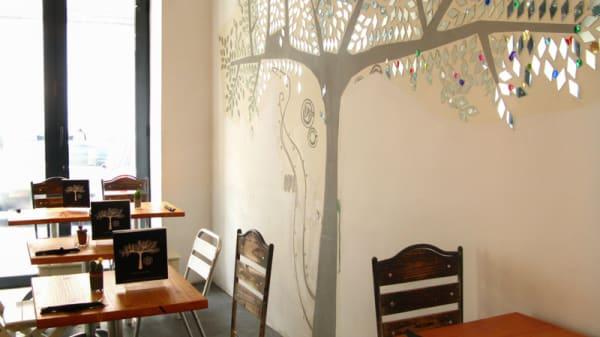 Vista de la sala - Alma Café, Madrid