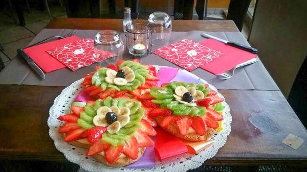 Torta di frutta - Al Vittoriale, Sanremo