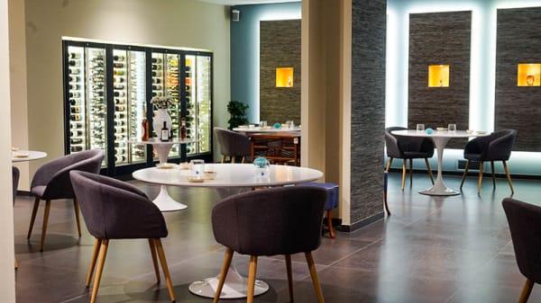 Veduta dell interno - Mazí, il ristorante gourmet di Villa Zaira, Castellammare di Stabia
