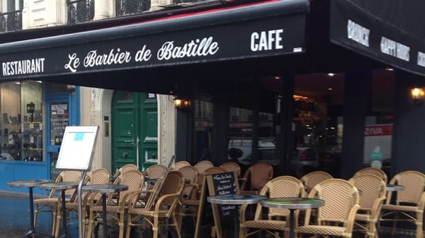 Vue de la terrasse - Le Barbier de Bastille, Paris