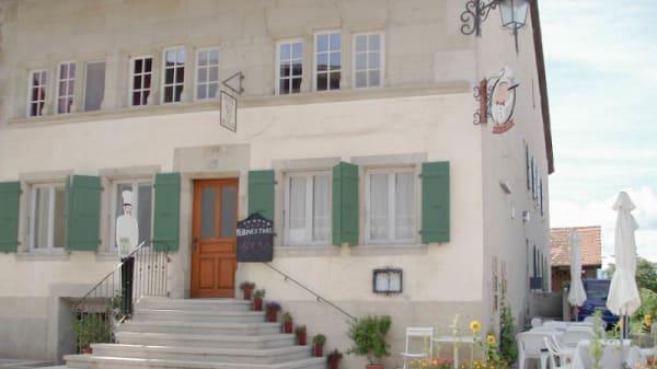 Devanture du restaurant - Restaurant de l'Hôtel de Ville, Grandcour