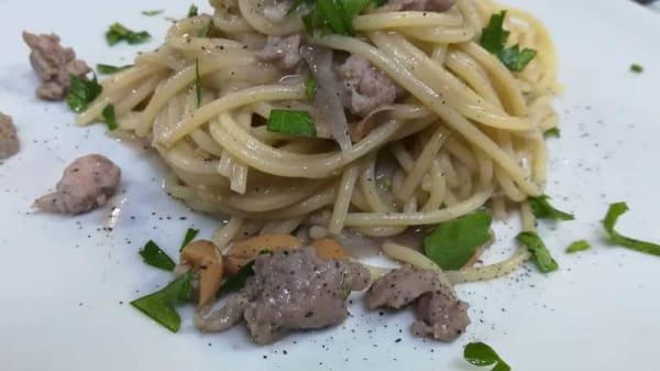suggerimento dello chef - Michele Ferrante La Cremeria RistoSalumeria Paninoteca, Caserta