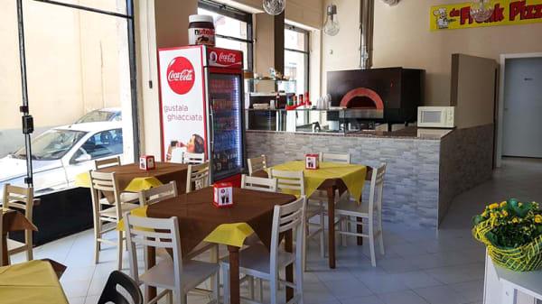 Sala - Da Frenk Pizza, Turin
