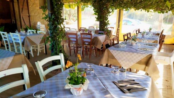 Tavoli all'aperto - Agriturismo La Casa Di Campagna, Magione