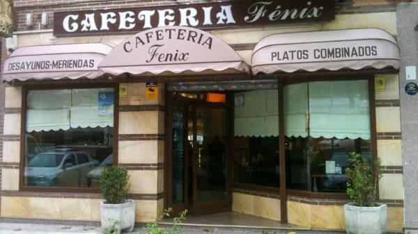 Vista entrada - Cafetería Fénix, Fuenlabrada