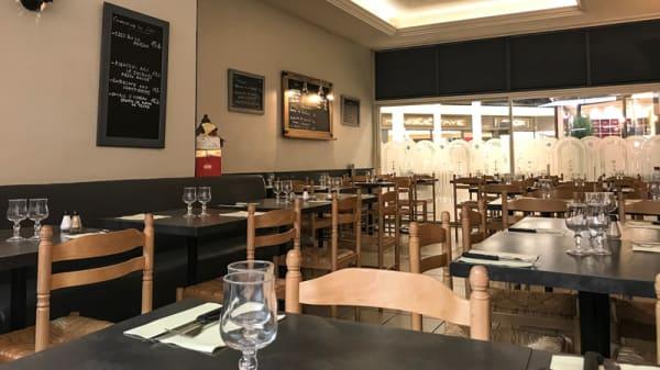 Salle du restaurant - Pizza Mario, Chennevières-sur-Marne