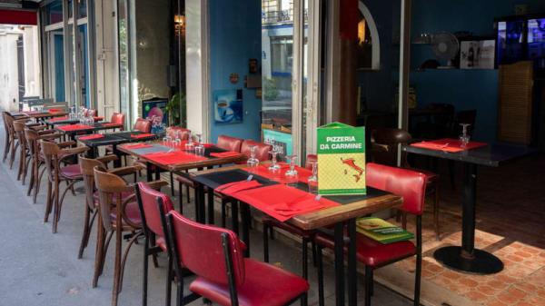 Terrasse - Da Carmine, Paris