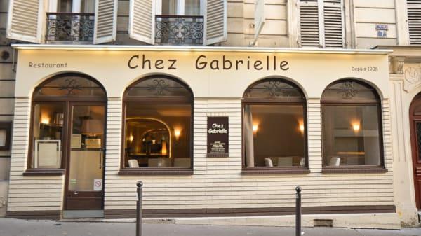 Entrée - Chez Gabrielle, Paris