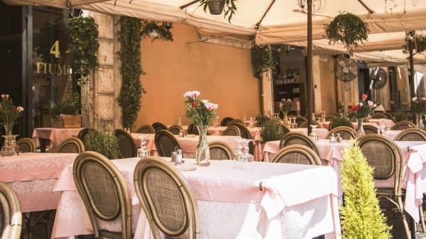 Esterno - 4 Fiumi, Rome