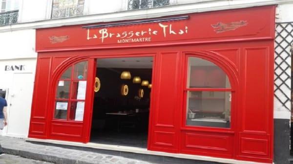 exterieur - La Brasserie Thaï, Paris