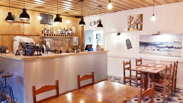 Vue de la salle - Restaurant pizzeria le 100'Ain, Mijoux