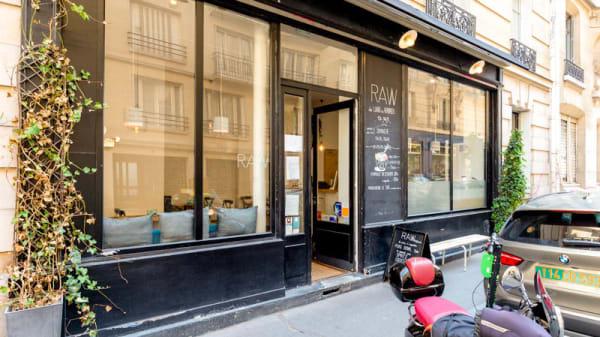 Entrée - Raw St Germain, Paris