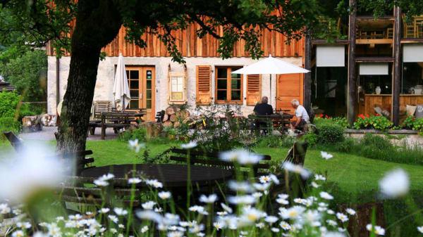 Terrasse - Le Moulin de Léré, Vailly
