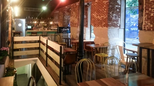 Vista sala - Loreto Coffee Bar, Madrid