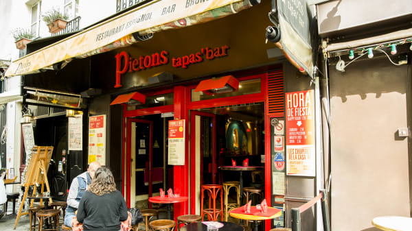Devanture - Les Piétons, Paris