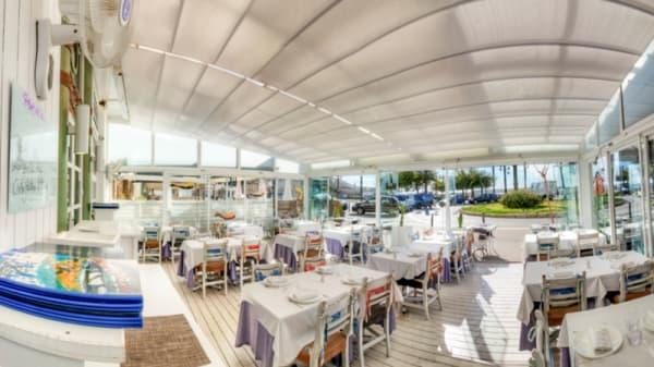 Vista de la terraza - Cal Pinxo Sitges, Sitges