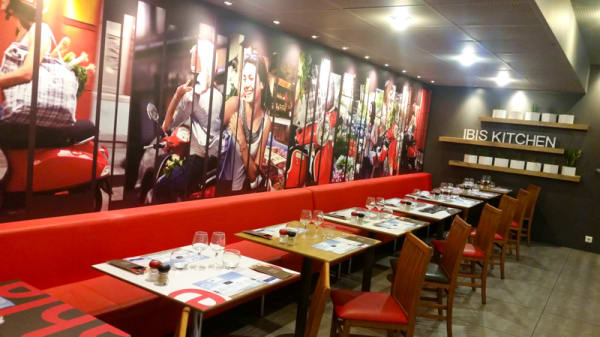 salle - Ibis Kitchen Restaurant Paris Porte d'Italie, Gentilly