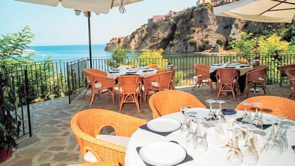 terrazza con splendida vista sul mare - Il Cormorano, Agropoli